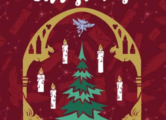 Harry Potter - The Great Hall - Embellished Christmas Card