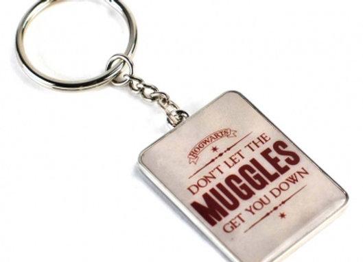 Harry Potter Keyring - Don't Let The Muggles Get You Down