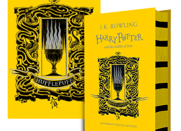 Hufflepuff House Edition of Harry Potter and the Goblet of Fire - Hardback