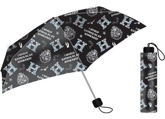 Harry Potter Umbrella - I Would Rather Be At Hogwarts