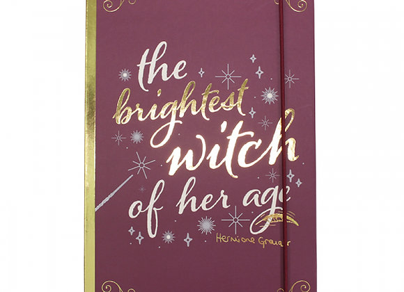 Harry Potter A5 Stationery Notebook - Hermione Granger (Brightest Witch)