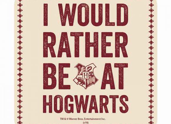 Harry Potter Coaster - Hogwarts Slogan