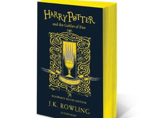 Harry Potter and the Goblet of Fire - Hufflepuff Edition (Paperback)