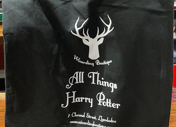 Wizarding Boutique Cotton Shopping Tote Bag