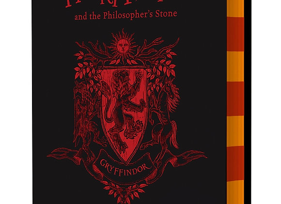 Harry Potter and the Philosopher's Stone – Gryffindor Edition Hardcover