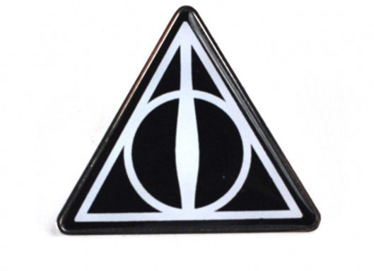 Harry Potter Badge - Deathly Hallows