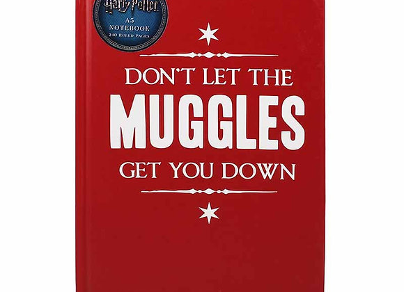 A5 Notebook - Don't Let The Muggle Get You Down