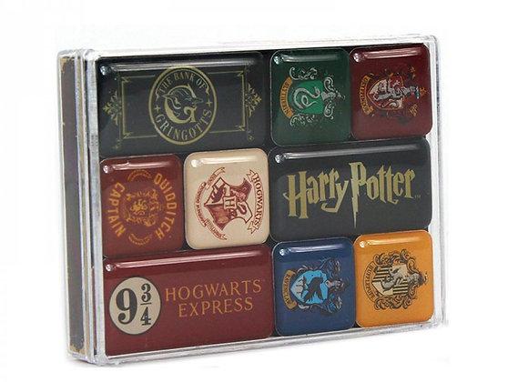 Harry Potter Magnet Set - Hogwarts Houses