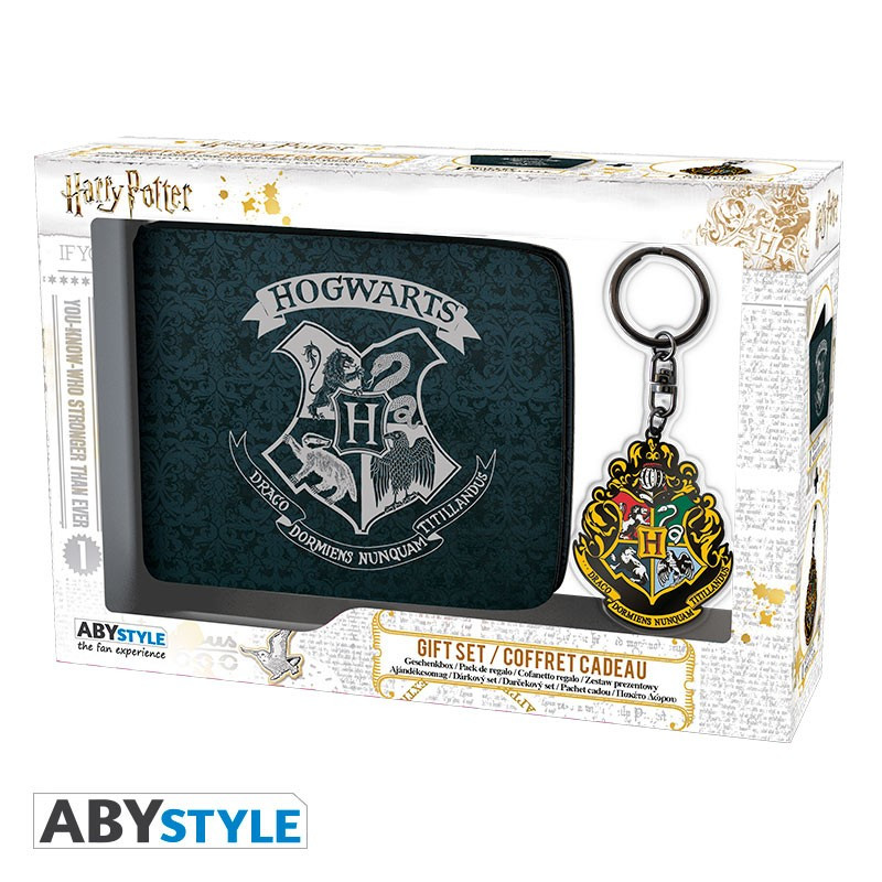 Harry Potter Wallet & Keyring Gift Set
