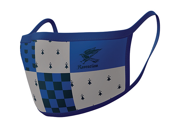 Harry Potter Ravenclaw Face Coverings 2 Pack