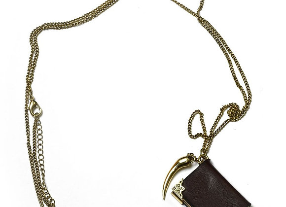 Harry Potter Tom Riddle Diary Necklace