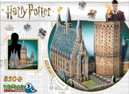 Harry Potter Wrebbit 3D Puzzle, Hogwarts - Great Hall, 850 pcs