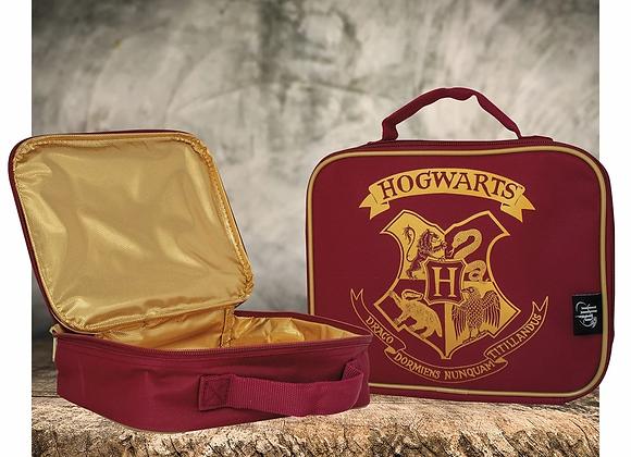 HARRY POTTER RED HOGWARTS LUNCH BAG