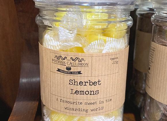 Sweet Jars - Wizard Favourites - Sherbet Lemons