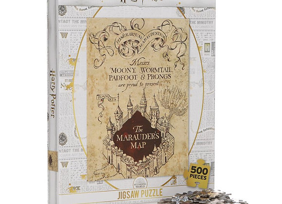 Jigsaw Puzzle 500 Pieces - Harry Potter (Marauders Map)