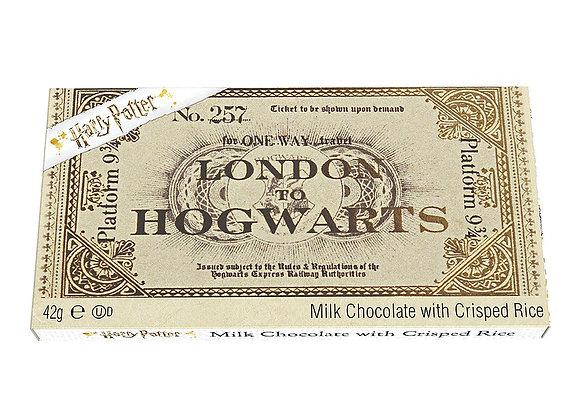Harry Potter Platform 9 & 3/4 Chocolate Bar 42g