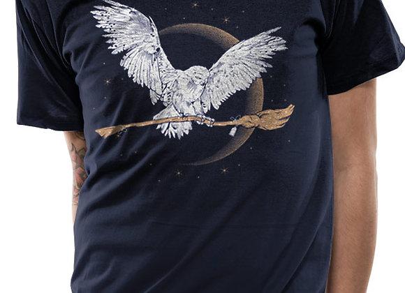 Harry Potter - Hedwig Unisex T-shirt - Blue
