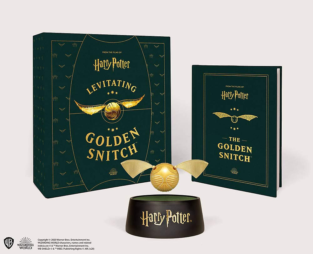 Luxury Levitating Golden Snitch