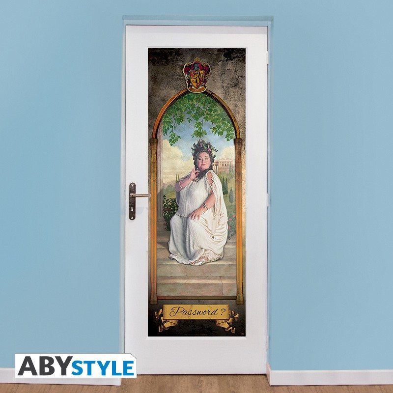 Fat Lady Door Poster