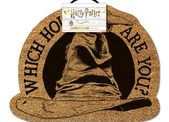 Hogwarts Sorting Hat Door Mat