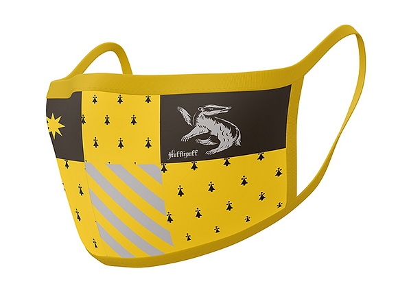 Harry Potter Hufflepuff Face Coverings 2 Pack