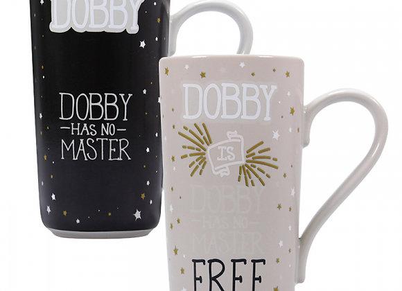 Harry Potter Heat Changing Latte Mug - Dobby (Dobby Is Free)