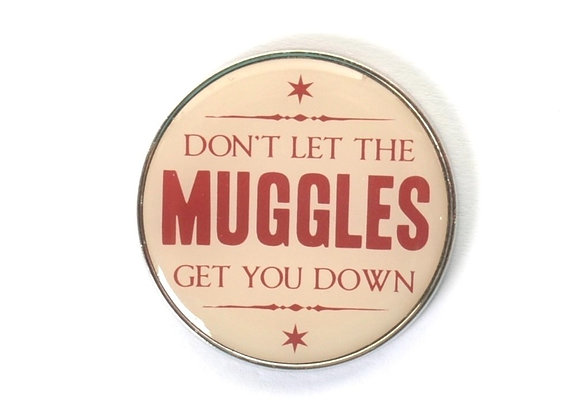 Harry Potter Pin - Don't Let The Muggles Get You Down