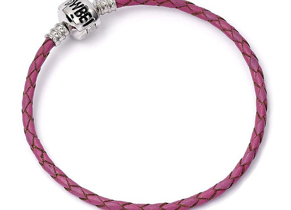 Harry Potter Pink Leather Charm Bracelet