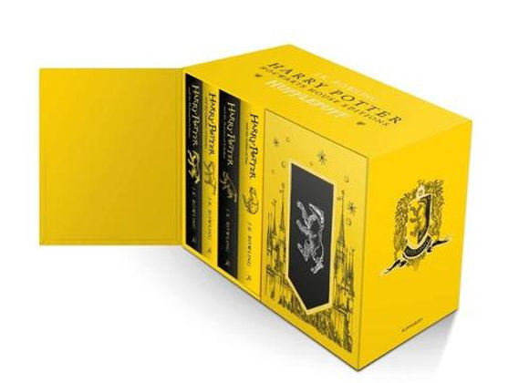 Harry Potter Hufflepuff House Editions Hardback Box Set