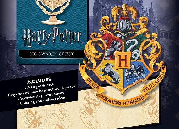 Harry Potter Hogwarts Crest 3D Wood Model (Incredibuilds)
