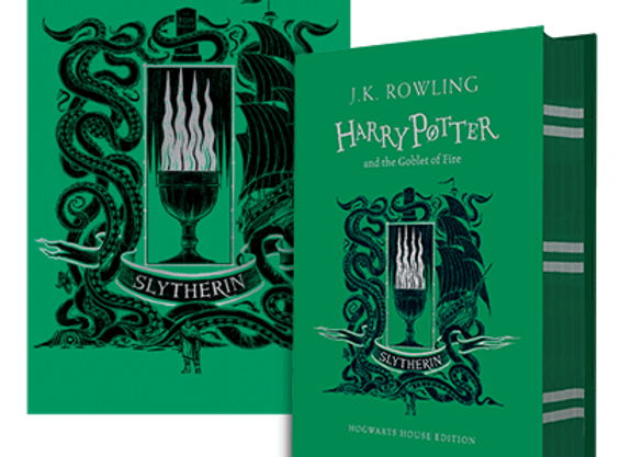 Slytherin House Edition of Harry Potter and the Goblet of Fire Hardback