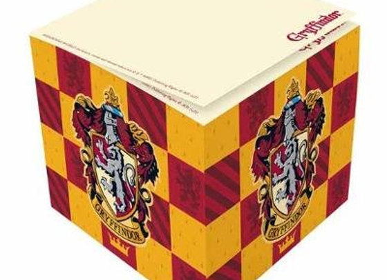 Harry Potter: Gryffindor Memo Cube