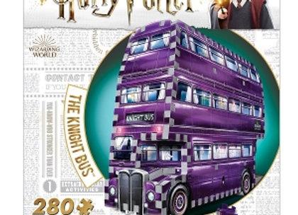 Harry Potter Wrebbit 3D Puzzle, Hogwarts - Knight Bus, 280 pcs