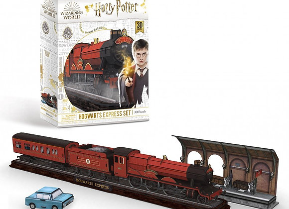 Harry Potter - Hogwarts Express Set 3D Model Kit