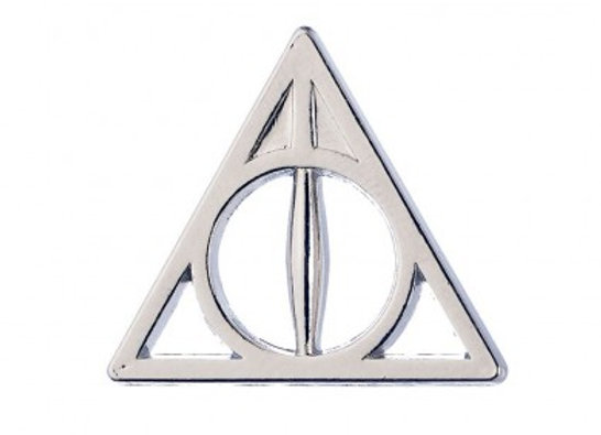DEATHLY HALLOWS PIN BADGE