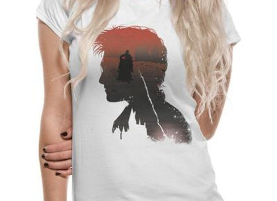 HARRY POTTER | BATTLE SILHOUETTE | FITTED T-SHIRT