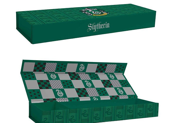 Harry Potter Magnetic Pencil Tin - Slytherin