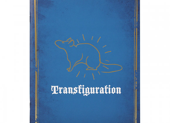 Harry Potter Exercise Book - Transfiguration