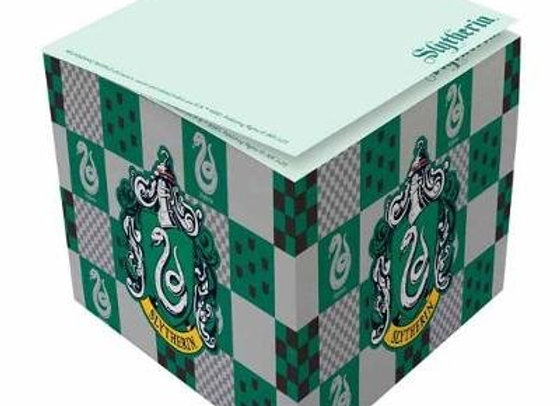 Harry Potter: Slytherin Memo Cube