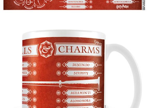 Harry Potter Spells and Charms Mug