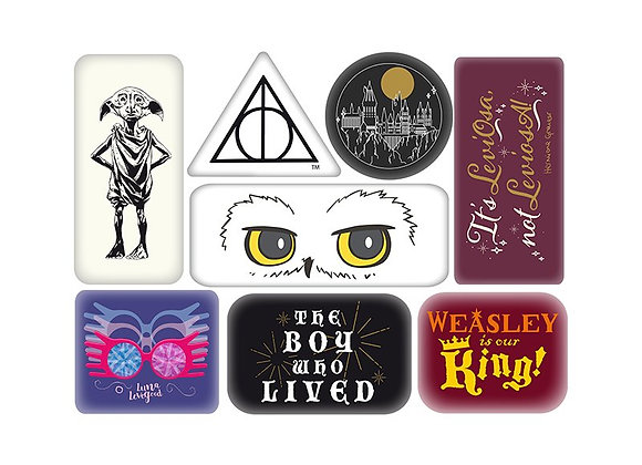 Magnet Epoxy Set of 8 - Harry Potter (Characters)