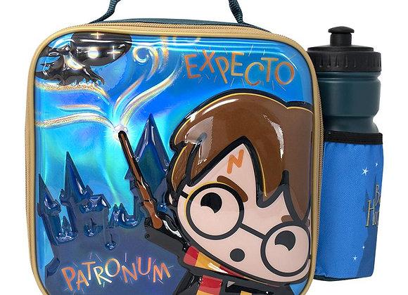 HARRY POTTER KAWAII 3D LUNCH BAG WITH BOTTLE