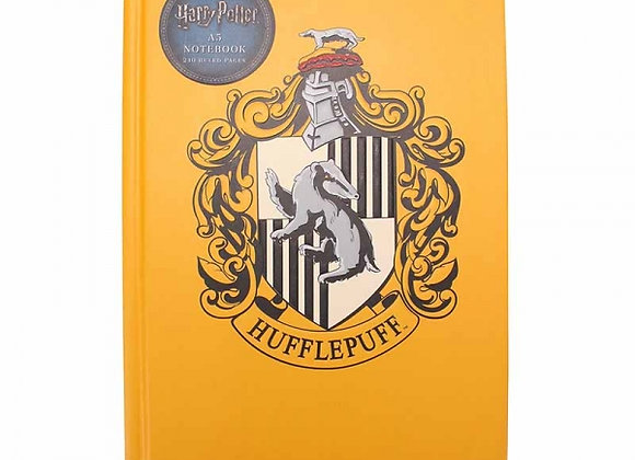 Harry Potter Premium A5 Notebook - Hufflepuff
