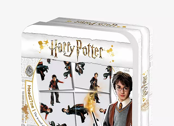 Harry Potter Head 2 Toe 9 Card Puzzle Challenge