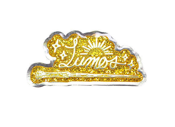 Harry Potter Enamel Pin Badge - Lumos