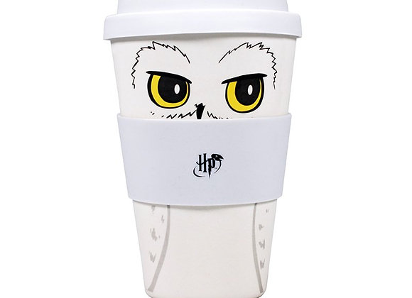 Travel Mug (Bamboo) - Harry Potter (Hedwig)