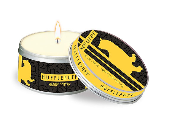 Harry Potter Hufflepuff Scented Tin Candle: Small, Citrus
