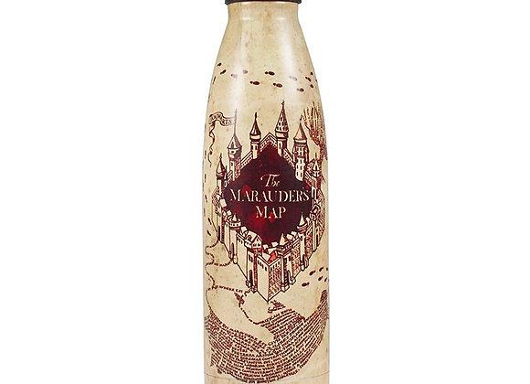 Water Bottle Metal (500ml) - Harry Potter (Marauders Map)