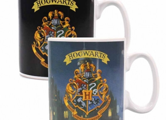 Harry Potter Heat Changing Mug - Hogwarts