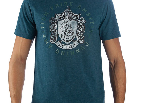 Harry Potter Slytherin House Crest T-Shirt